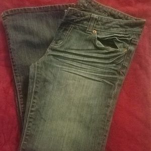 Bootcut jeans size 8